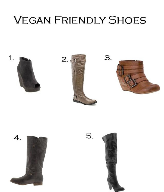 Animal Friendly Shoes for Fall