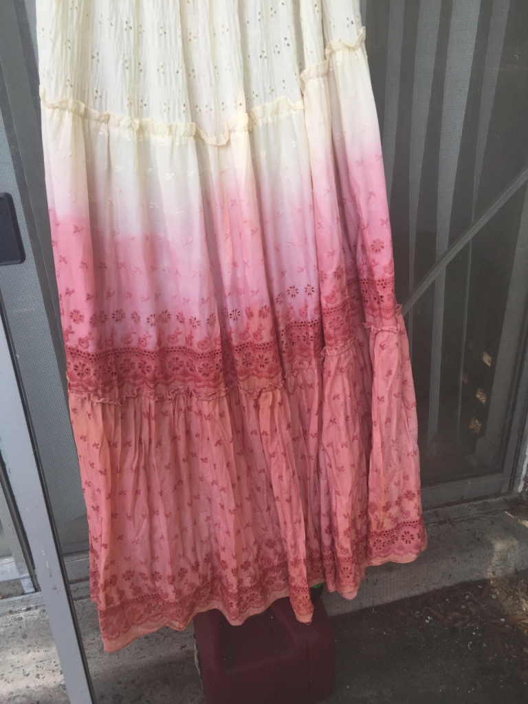 madder root dye dress