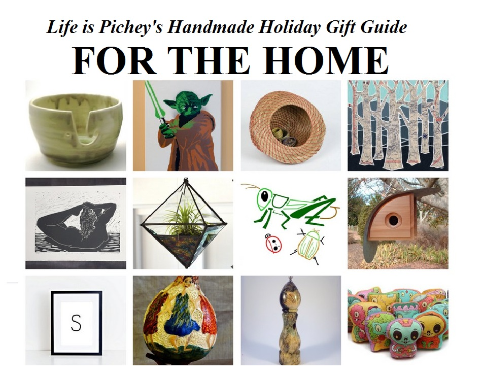 Handmade Holiday Gift Guide: For the Home