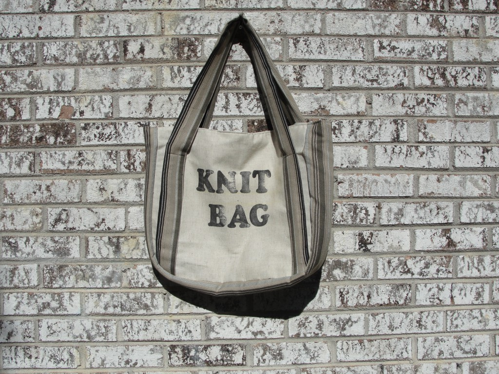 New Knitting Bag! Butterick 4900 – Vintage Pattern