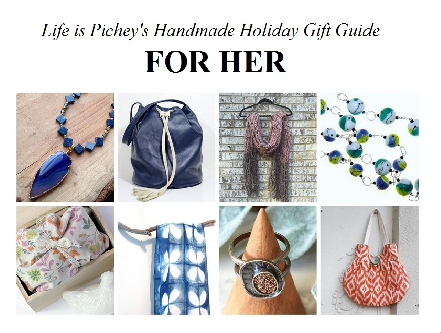 Handmade Holiday Gift Guide: For Her