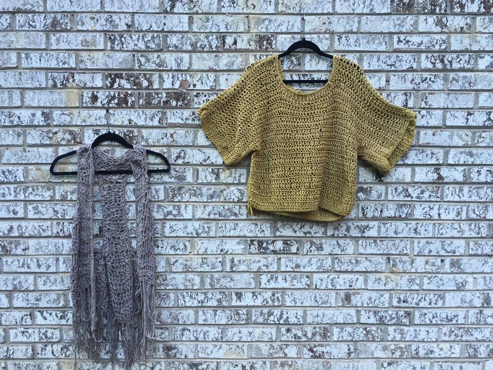 natural dye cotton yarn vest sweater