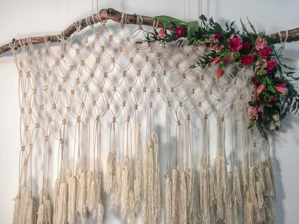 Macrame Photo Backdrop