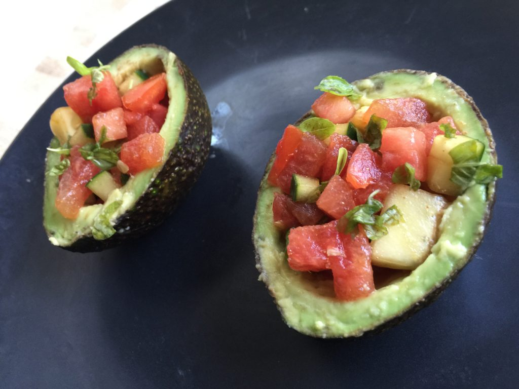 Avocado Salad Bowls