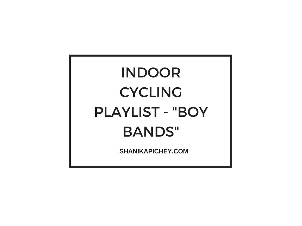 "Indoor Cycling Playlist – ""Boy Bands"""