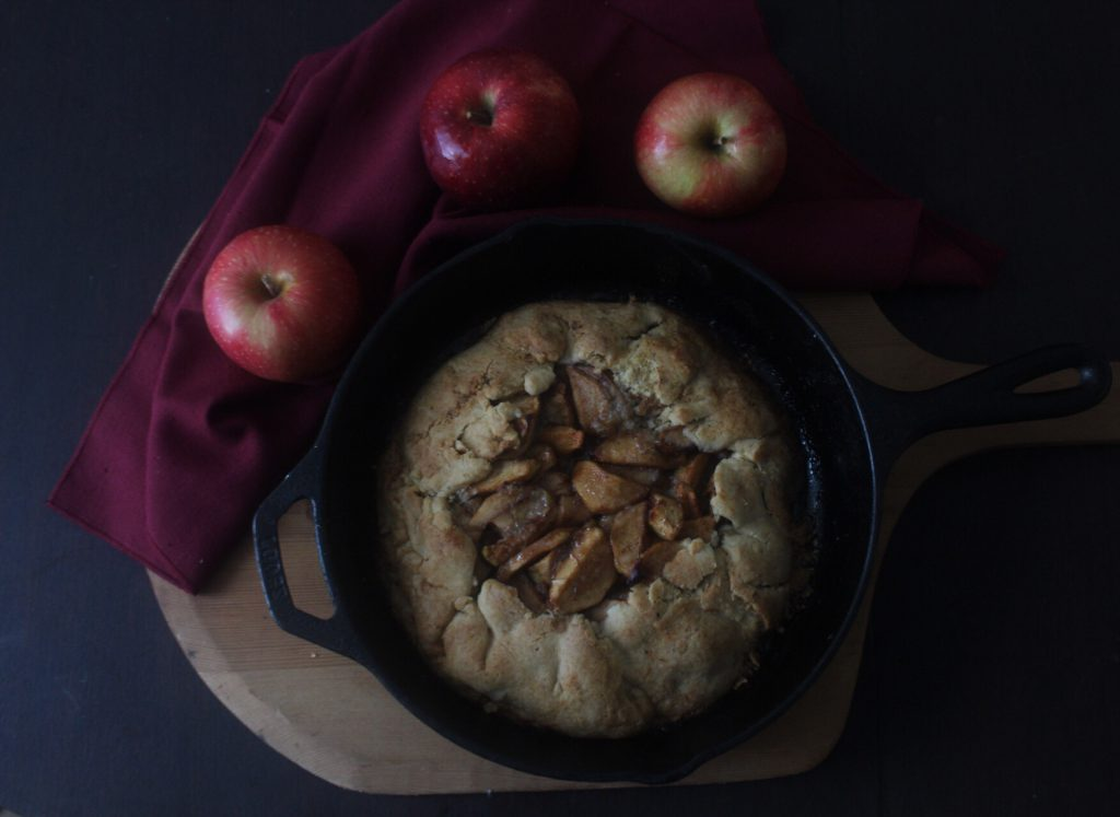 Apple Tart (and Adventures in Apple Picking)